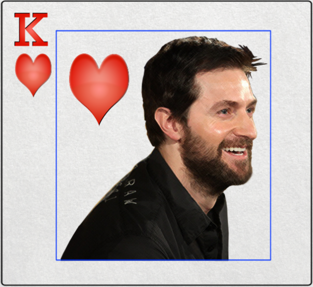 Richard Armitage, King of Hearts