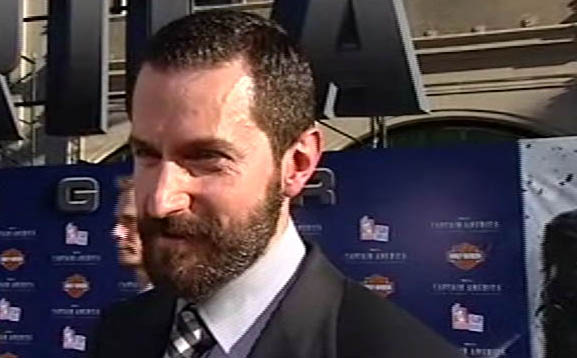 Richard Armitage - Captain America premiere