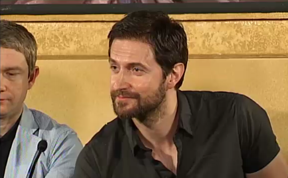 Richard Armitage at Hobbit Press Conference