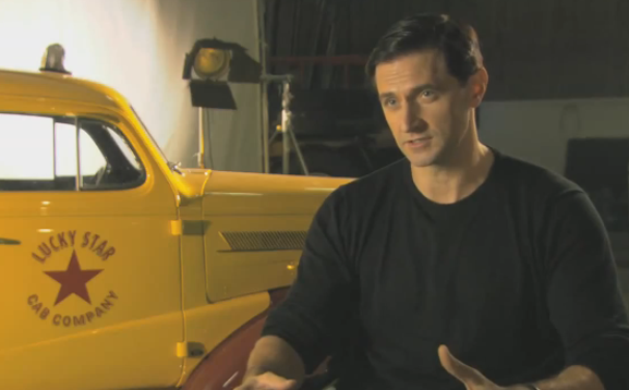 Richard Armitage - super short interview on Heinz Kruger
