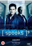 Spooks 9 DVD cover