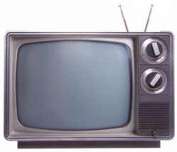 TV with knobs