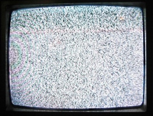 TV with static