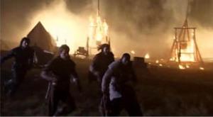 Trebuchet Explosion