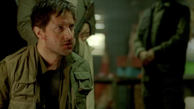 Richard Armitage as John Porter in Strike Back 2