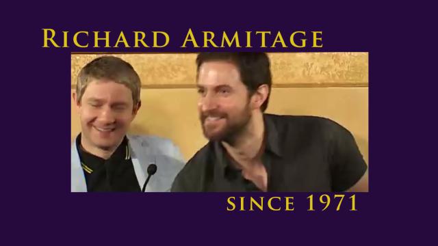 bccmee's Richard Armitage tribute video