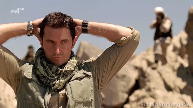 Richard Armitage as John Porter hands up!