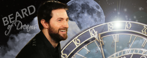 Richard Armitage Beard of Dreams